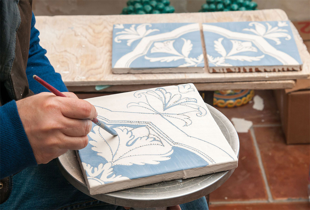 How tile is made