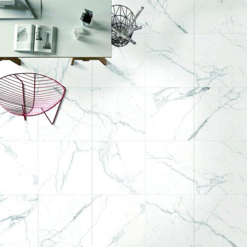 Carrara Premium Matte 24 x 24